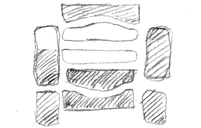 distorted land grid